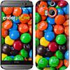 """Чехол на HTC One M8 dual sim M&M's """"1637c-55-532"""""""
