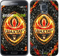 "Чехол на Samsung Galaxy S5 Duos SM G900FD Шахтёр v4 ""1207c-62-532"""