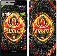 """Чехол на Huawei Ascend P6 Шахтёр v4 """"1207c-39-532"""""""
