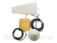 GSM усилитель сигнала репитер PicoTell 1800 HS комплект, фото 1