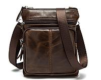 """Мужская сумка барсетка """"Практик"""" из натуральной кожи, фото 1"""