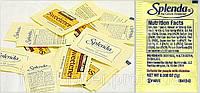 Сахарозаменитель сукралоза Спленда без калорий пакетированный Splenda Sweetener 50 г
