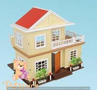 Игровой домик для кукол Happy Family М 1514
