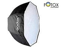 Софтбокс октобокс Godox 80 см. для накамерной вспышки, зонтичного типа, фото 1
