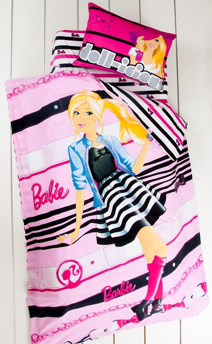 Постельное белье Tac Disney - Barbie Dollicious подростковое