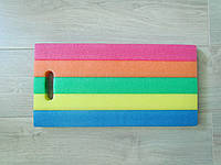 Подставка прямоугольная разноцветная (мягкая)