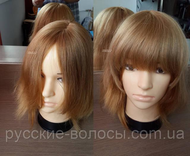 Накладна чубчик з натуральних волосся