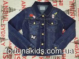 Джинсовая куртка для девочек SEAGULL 134-164 р.р.