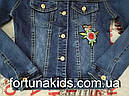 Джинсовая куртка для девочек SEAGULL 134-164 р.р., фото 3