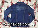 Джинсовая куртка для девочек SEAGULL 134-164 р.р., фото 4