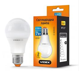 Led Лампа Videx A60e 7W E27 3000K