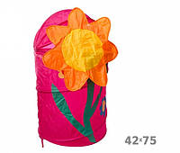 Корзина для игрушек Цветок 703