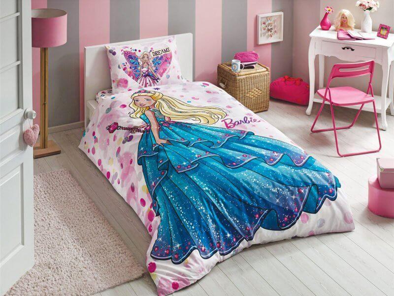 Постельное белье Tac Disney - Barbie Dream подростковое