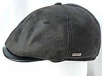 Мужская шапка-кепка с козырьком