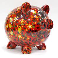 Копилка Свинка - Peggy D керамическая handmade ручная работа оригинальный подарок