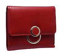 Компактное женское портмоне  K814 red