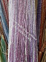 Яркие шторы-нити кисея оптом и в розницу
