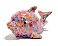 Копилка Дельфин - Twisty A керамическая handmade ручная работа оригинальный подарок