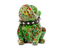 Копилка Бульдог - Lizzy C керамическая handmade ручная работа оригинальный подарок