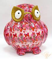 Копилка Сова XL - Big Errol C керамическая handmade ручная работа оригинальный подарок