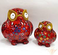 Копилка Сова XL - Big Errol A керамическая handmade ручная работа оригинальный подарок