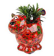 Вазон Кошечка - Dorothy A керамическая handmade ручная работа оригинальный подарок