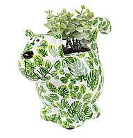 Вазон Кошечка - Dorothy B керамическая handmade ручная работа оригинальный подарок