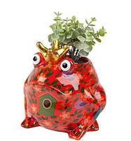 Вазон Жаба - Freddy A керамическая handmade ручная работа оригинальный подарок
