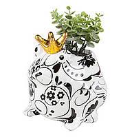 Вазон Жаба - Freddy E керамическая handmade ручная работа оригинальный подарок