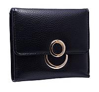 Компактное женское портмоне  K814 black