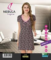 Ночная рубашка женская 505E виcкоза Nebula