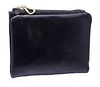 Кожаное  женское портмоне  3329 black