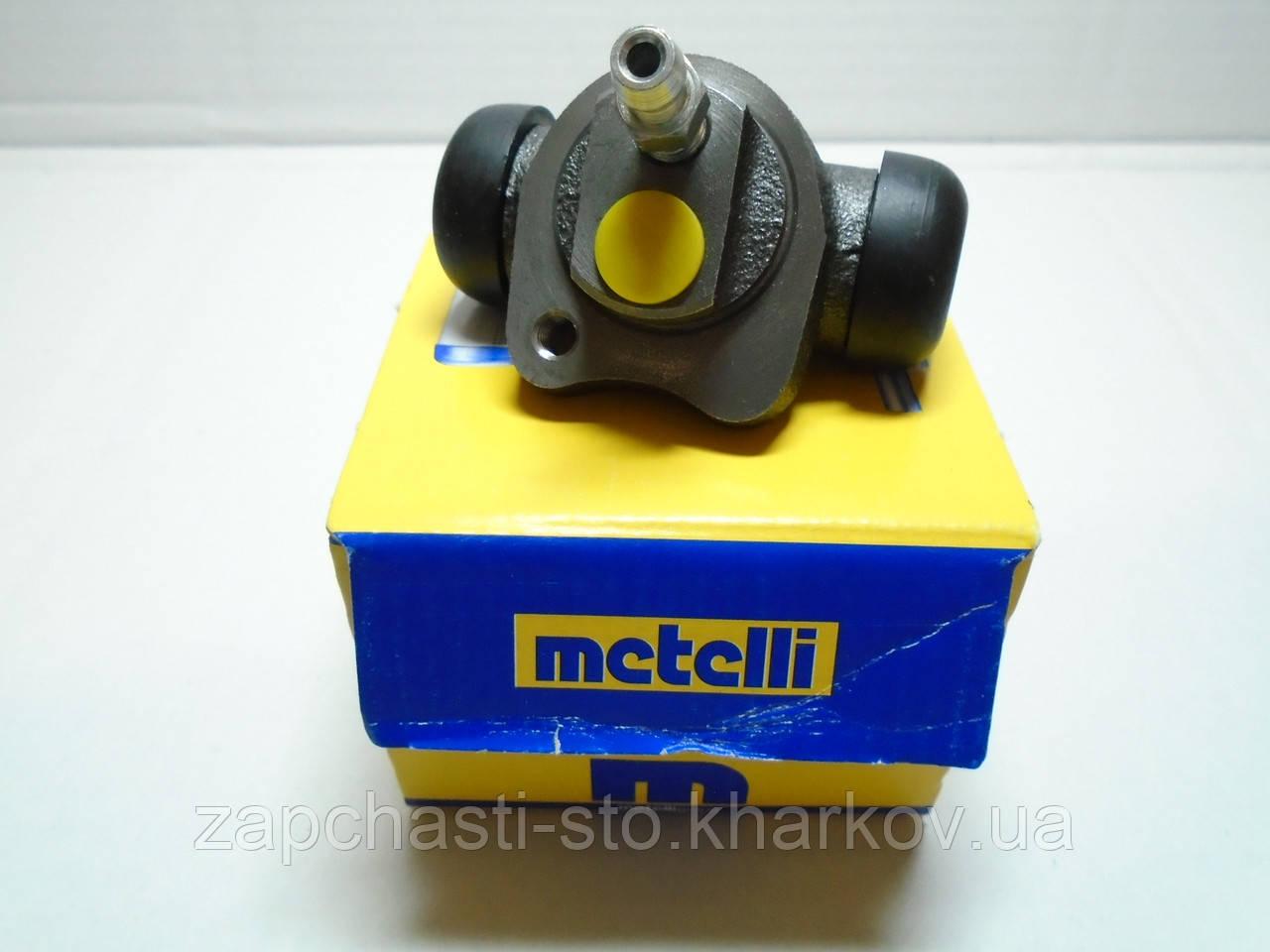 Задний тормозной цилиндр Aveo, Nexia 1 отверстие Metelli