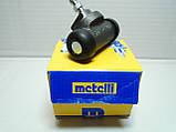 Задний тормозной цилиндр Aveo, Nexia 1 отверстие Metelli, фото 2