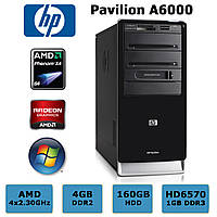 Игровой HP Pavilion - 4 Ядра Phenom X4 /4GB DDR2 /Radeon HD6570 1GB /160GB HDD