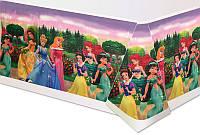 Скатерть праздничная полиэтиленовая Принцессы Дисней