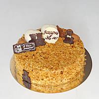 Торт Медовик с запеченной яблочной прослойкой