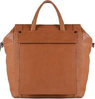 Удивительная сумка-рюкзак для женщин, кожаная Piquadro KOLYMA/Tobacco, CA3982S85_CU коричневый