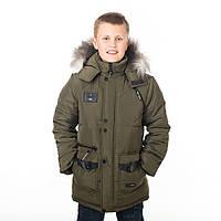 """Детская зимняя куртка """"Винт"""" для мальчика Разные цвета"""