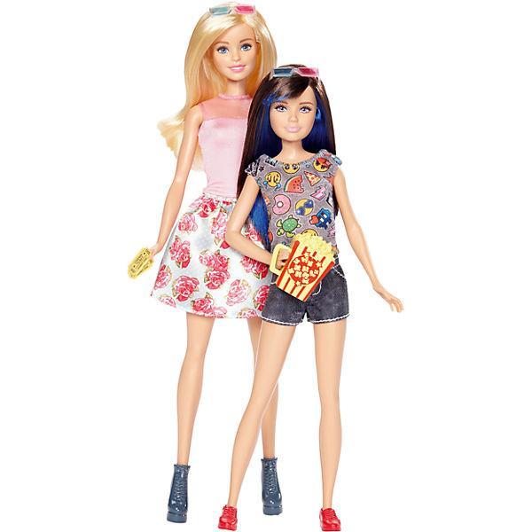 Набір ляльок Барбі і Скіппер в 3D окулярах серії Барбі і її сестри DWJ65