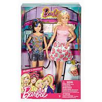 Набір ляльок Барбі і Скіппер в 3D окулярах серії Барбі і її сестри DWJ65, фото 4