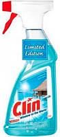 Средство для мытья окон Clin Карибское Солнце пистолет (голубой), 500 мл