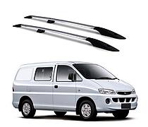 Рейлинги Hyundai H200 1997-2008 с пластиковым креплением