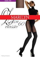 Колготки с имитацией чулок Marilyn ZAZU Classic