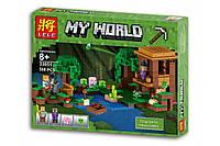 """Конструктор Lele 33051 Minecraft \ Майнкрафт (реплика Lego 21133) """"Хижина ведьмы"""", 508 дет., фото 1"""