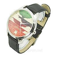 Дизайнерские наручные часы с изображением в стиле  80-х