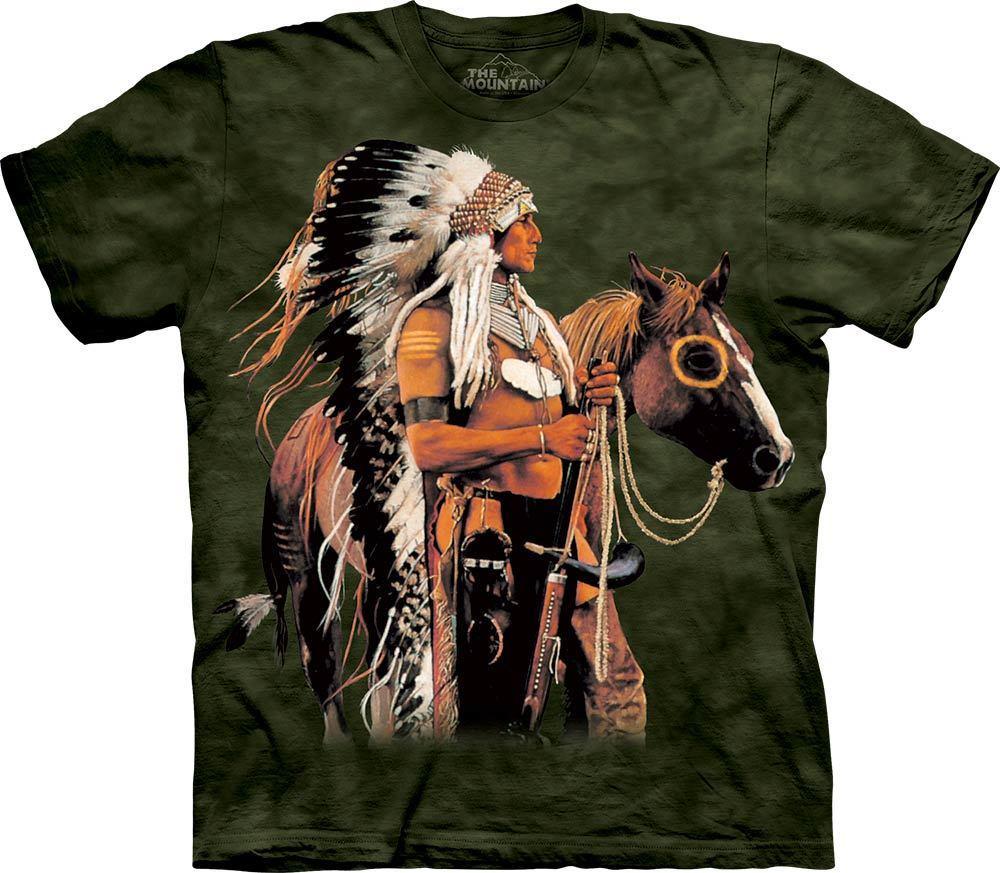 3D футболка мужская The Mountain р.M 50 RU футболки мужские с 3д рисунком (Гордый Воин)