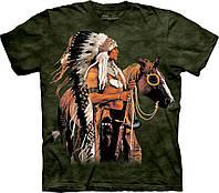 3D футболка мужская The Mountain р.XL 58-60 RU футболки 3д (Гордый Воин)