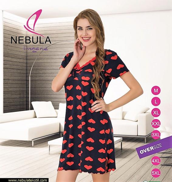 Ночная Рубашка Женская 505Z Виcкоза Nebula — в Категории