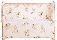 Комплект защиты на стеночки в кроватке«Gold» Qvatro 620995